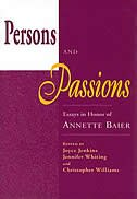 Book Persons And Passions: Essays In Honor Of Annette Baier by Joyce Jenkins