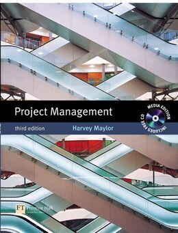 Book Project Management Media Edition With Ms Project Cd by Harvey Maylor