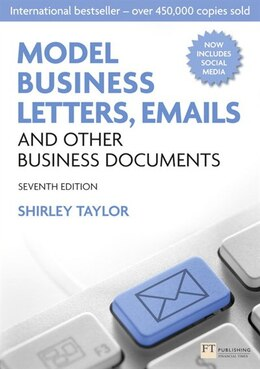 Book Model Business Letters, Emails and Other Business Documents by SHIRLEY TAYLOR