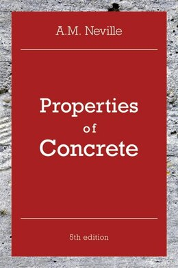Book Properties of Concrete by A. M. Neville