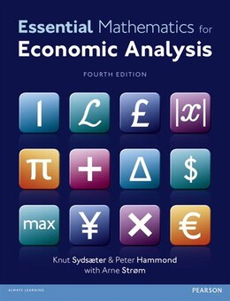 Book Essential Mathematics for Economic Analysis by Knut Sydsaeter