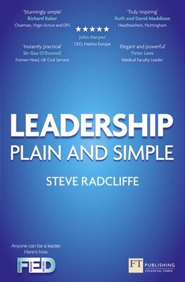 Book Leadership: Plain and Simple by Steve Radcliffe