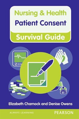 Book Patient Consent by Elizabeth Charnock