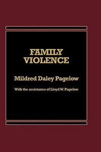 Book Family Violence by Mildred D. Pagelow