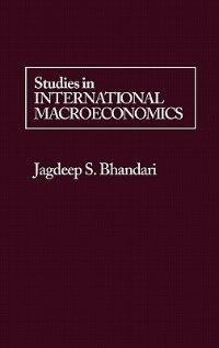 Studies in International Macroeconomics