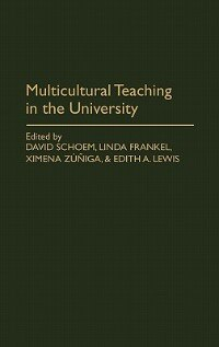 Book Multicultural Teaching in the University by David Schoem