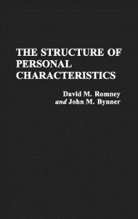 Book The Structure of Personal Characteristics by David M. Romney