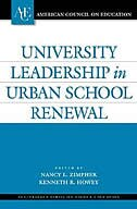 Book University Leadership In Urban School Renewal by Nancy L. Zimpher