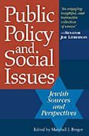 Public Policy And Social Issues: Jewish Sources And Perspectives