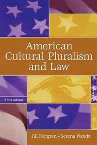 Book American Cultural Pluralism And Law by Jill Norgren