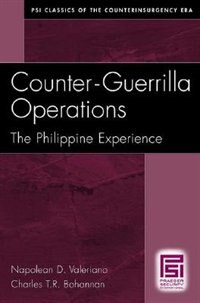 Book Counter-guerrilla Operations: The Philippine Experience by Napolean D. Valeriano