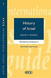Book History Of Israel by David Hinson