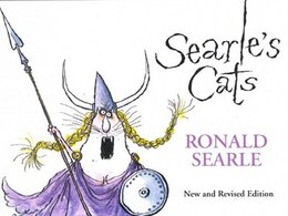 Book Searle's Cats by Ronald Searle