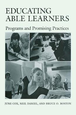 Book Educating Able Learners: Programs and Promising Practices by June Cox