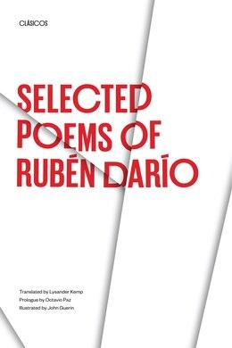 Book Selected Poems of Rubén Darío by Rubén Darío