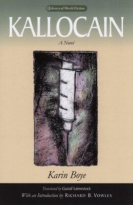 Book Kallocain by Karin Boye