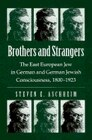 Book Brothers And Strangers: The East European Jew In German And German Jewish Consciousness, 1800?1923 by Steven E. Aschheim