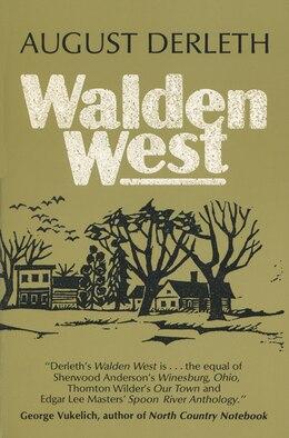 Book Walden West by August Derleth