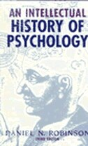 Book An Intellectual History Of Psychology by Daniel N. Robinson