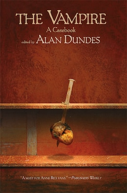 Book The Vampire: A Casebook by Alan Dundes