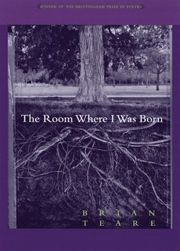 Book Room Where I Was Born by Brian Teare