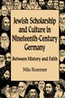 Jewish Scholarship And Culture In Nineteenth-century Germany: Between History and Faith by Nils Roemer