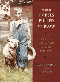 When Horses Pulled the Plow: Life Of A Wisconsin Farm Boy, 1910?1929