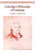 Coleridge's Philosophy Of Language