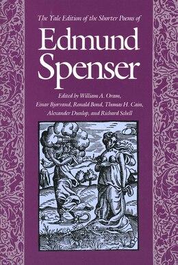 Book The Yale Edition of the Shorter Poems of Edmund Spenser by Edmund Spenser