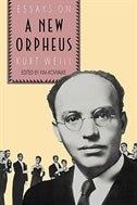 Book The New Orpheus: Essays on Kurt Weill by Kim H. Kowalke