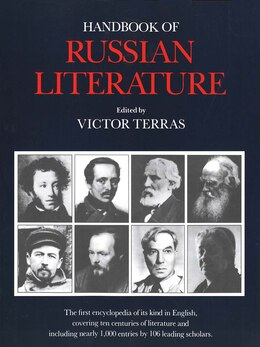 Book Handbook of Russian Literature by Victor Terras