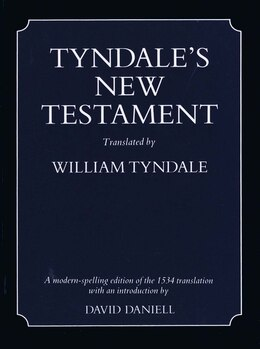 Book Tyndale's New Testament by William Tyndale