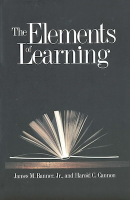 Book The Elements of Learning by James M. Banner