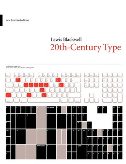 Book 20th-Century Type: New and Revised Edition by Lewis Blackwell