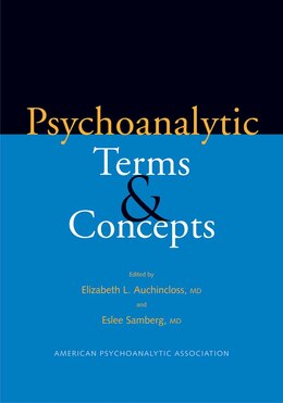 Book Psychoanalytic Terms and Concepts by Elizabeth L. Auchincloss