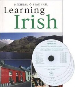 Book Learning Irish: Text with 4 Audio CDs by Michael O'Siadhail