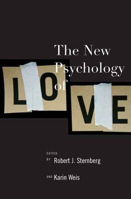 Book The New Psychology of Love by Robert J. Sternberg