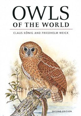 Book Owls of the World by Claus König