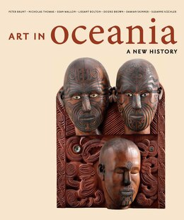 Book Art In Oceania: A New History by Peter Brunt