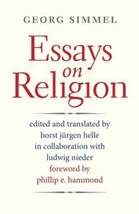 Essays On Religion by Georg Simmel