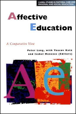 Book Affective Education in Europe by Peter Lang
