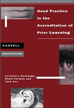 Book Good Practice Accreditation of Prior Learning by Lovemore Nyatanga