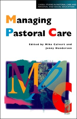 Book Managing Pastoral Care by Mike Calvert