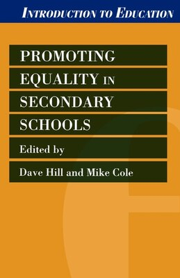 Book Promoting Equality In Secondary Schools by David Hill