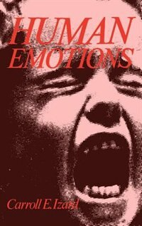 Book Human Emotions by Carroll E. Izard