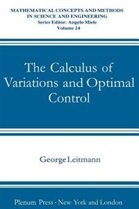 Book The Calculus of Variations and Optimal Control: An Introduction by George Leitmann