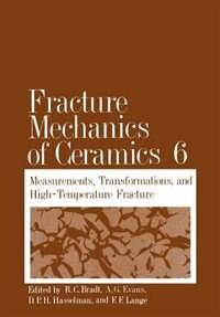 Book Fracture Mechanics Of Ceramics by Richard C. Bradt