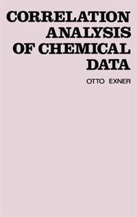 Book Correlation Analysis of Chemical Data by O. Exner
