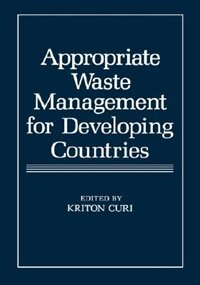 Book Appropriate Waste Management for Developing Countries by Kriton Curi