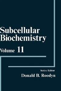 Book Subcellular Biochemistry by D.B. Roodyn